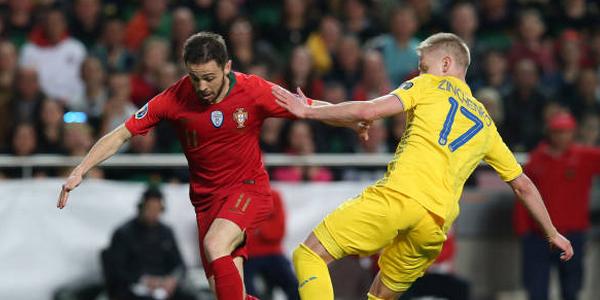 Євро-2020. Україна відібрала очки у португальців (+ВІДЕО)